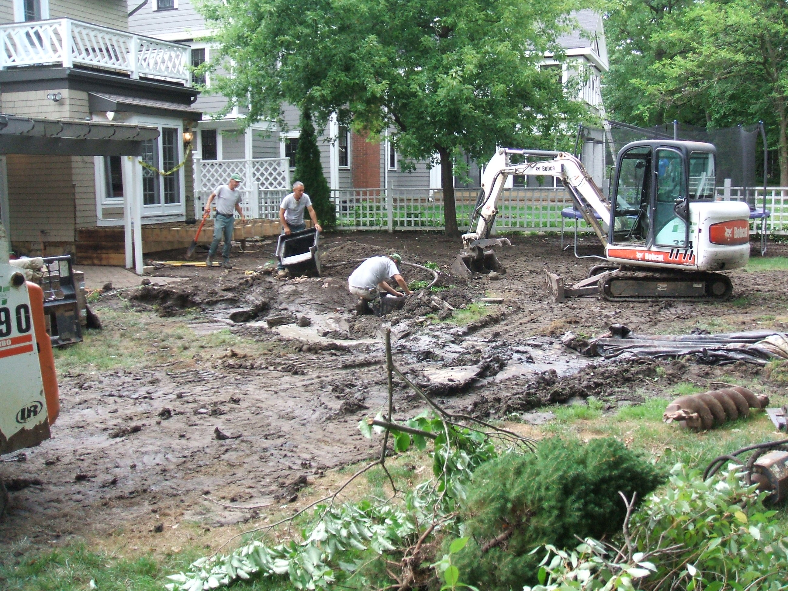 Cleveland Heights Backyard Renovation